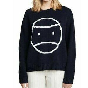 Tory Burch Sport Pixel Little Grumps Wool Sweater